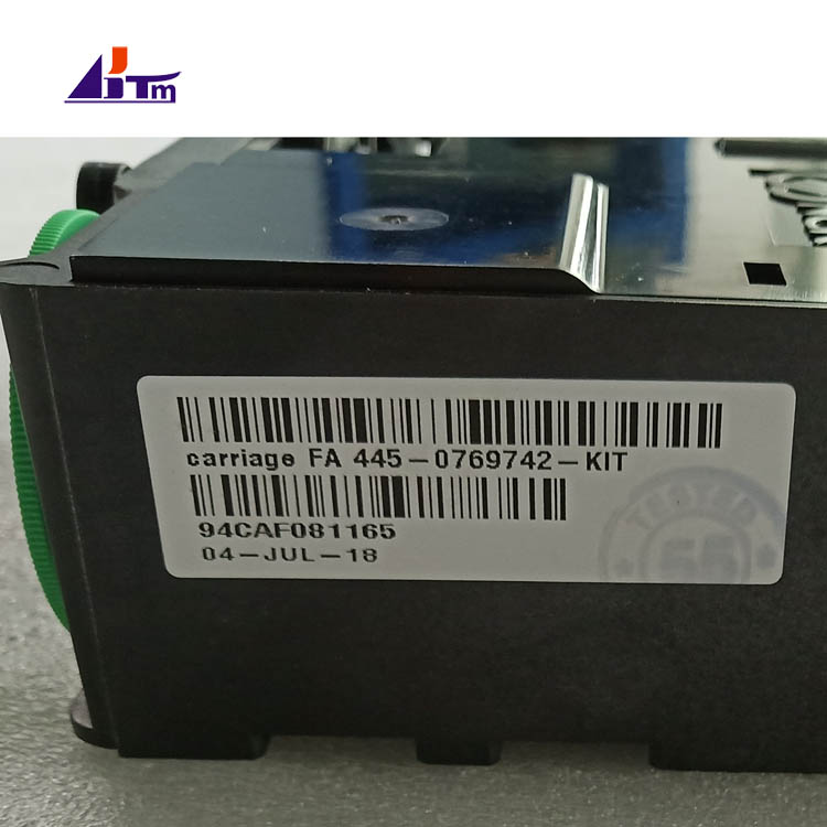 NCR SelfServ FA Carriage Assy 4450769742 445-0769742