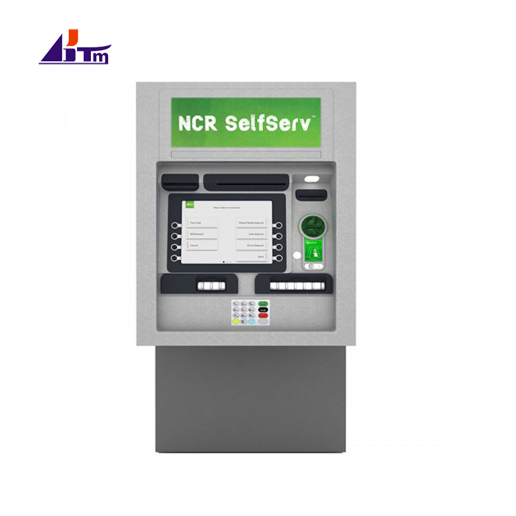 NCR SelfServ 34 NCR 6634 Walk-Up Through-The-Wall Full-Function ATM