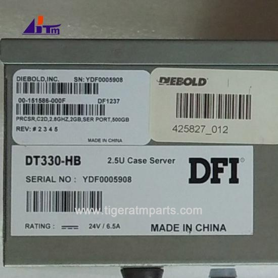 00151586000F Diebold Opteva PC Core TPM.PRCSR.C2D 2.8GHz.SER PORT 500GB
